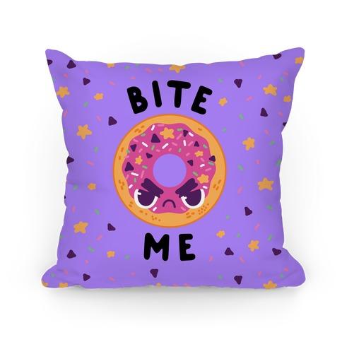 Bite Me (Donut) Pillow