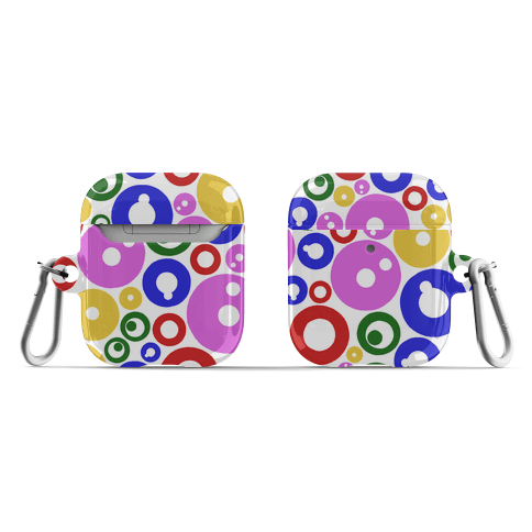 Bloobles Pattern AirPod Case