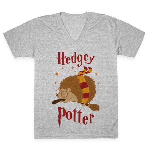Hedgey Potter V-Neck Tee Shirt