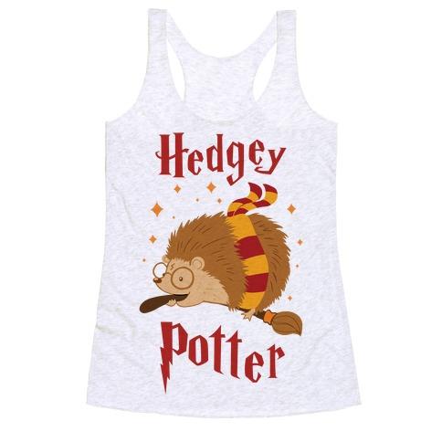 Hedgey Potter Racerback Tank Top