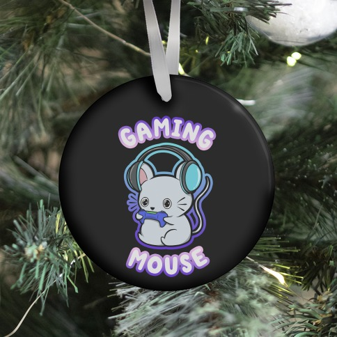 Gaming Mouse Ornament