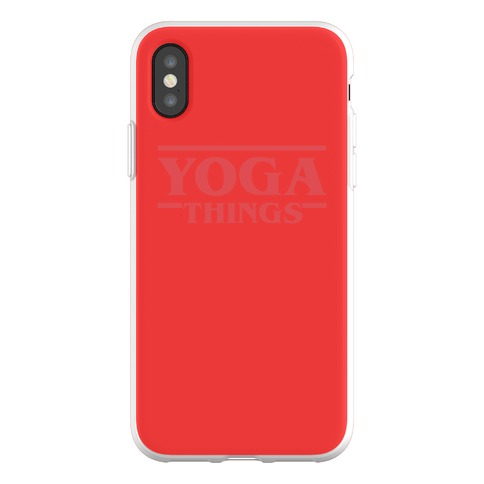 Yoga Things Phone Flexi-Case