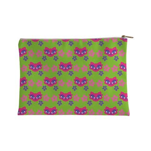 Y2K Cat Pattern Accessory Bag