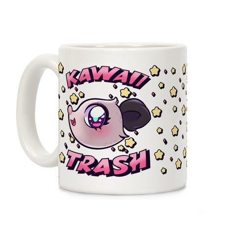 Kawaii Trash Coffee Mug