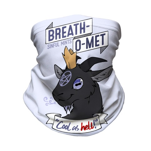 Breath-O-Met Sinful Mints Neck Gaiter