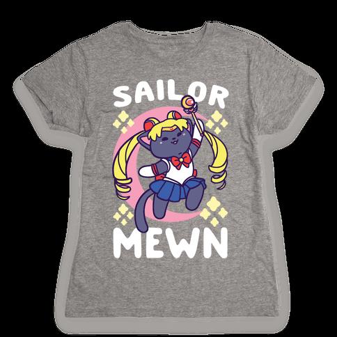 Sailor Mewn Womens T-Shirt