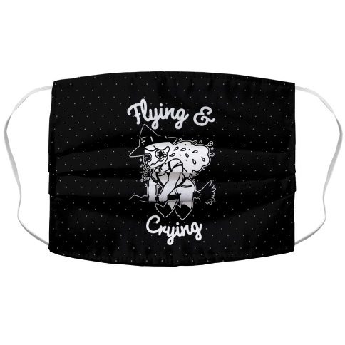 Flying & Crying Accordion Face Mask