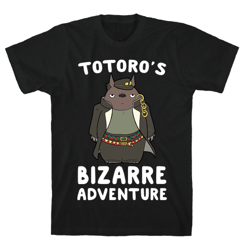 Totoro's Bizarre Adventure  Mens T-Shirt