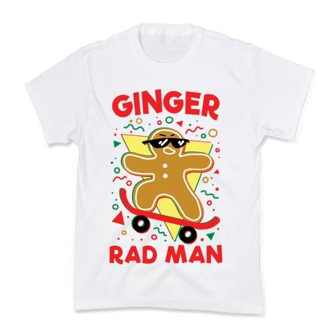 Ginger Rad Man Kids T-Shirt