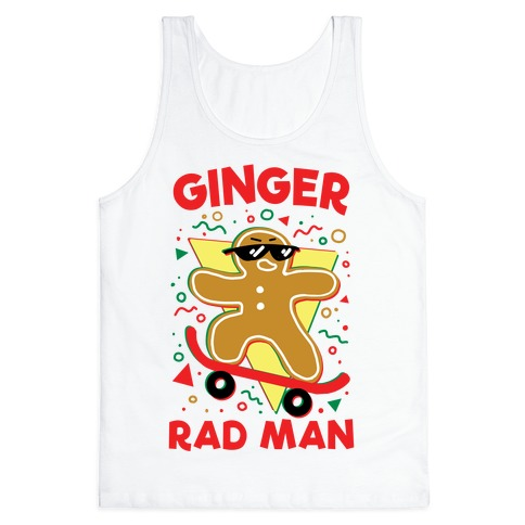 Ginger Rad Man Tank Top
