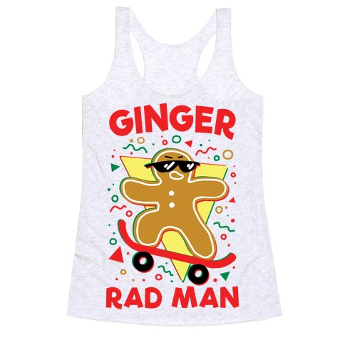 Ginger Rad Man Racerback Tank Top