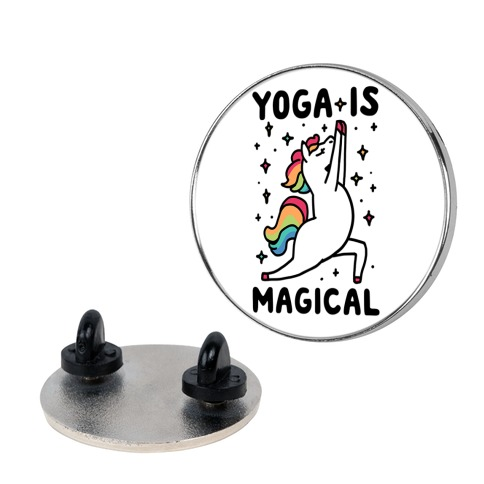 Yoga Is Magical Pin