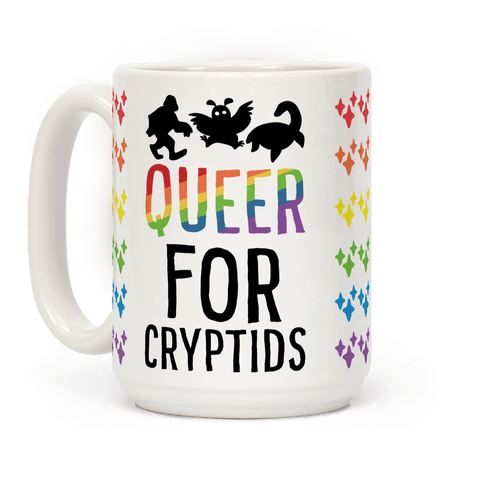 Queer for Cryptids Coffee Mug