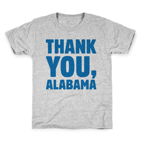Thank You Alabama  Kids T-Shirt