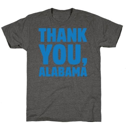Thank You Alabama T-Shirt