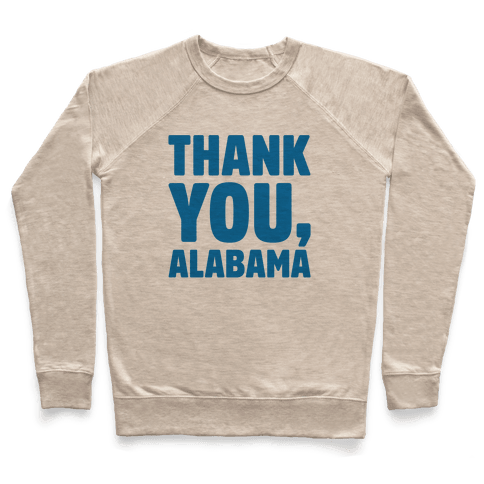Thank You Alabama  Pullover