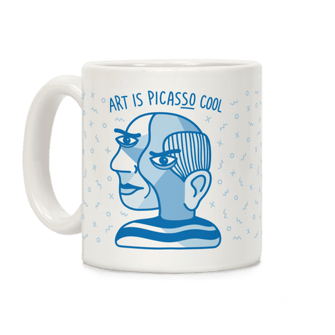 Art Is PicasSO Cool Coffee Mug