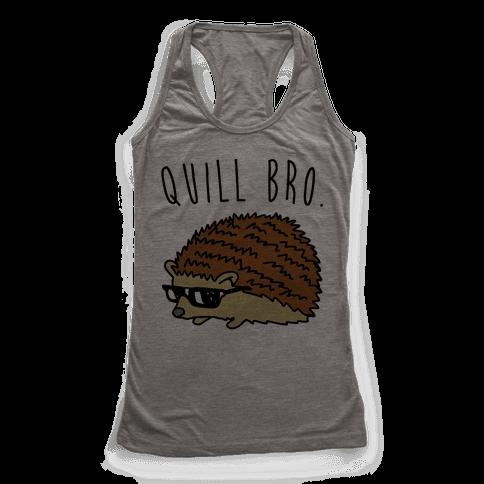 Quill Bro  Racerback Tank Top