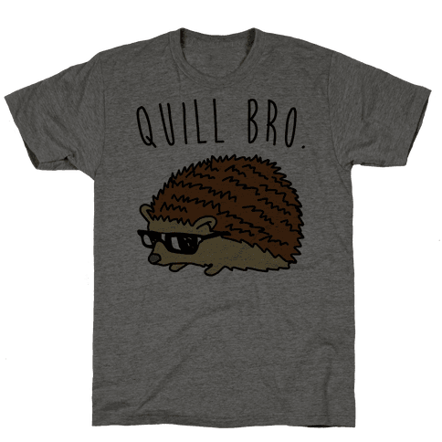 Quill Bro  Mens T-Shirt