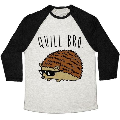 Quill Bro  Baseball Tee