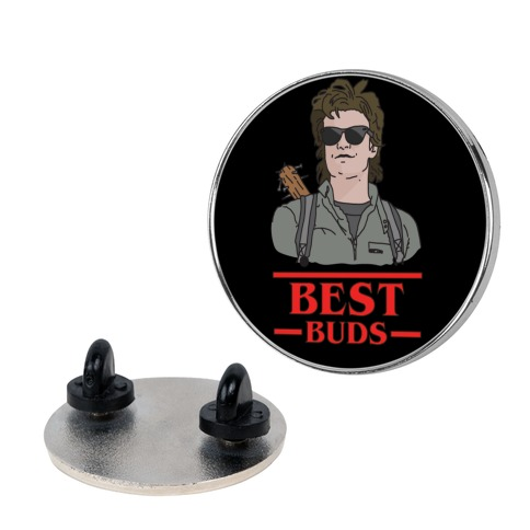 Best Buds Steve pin