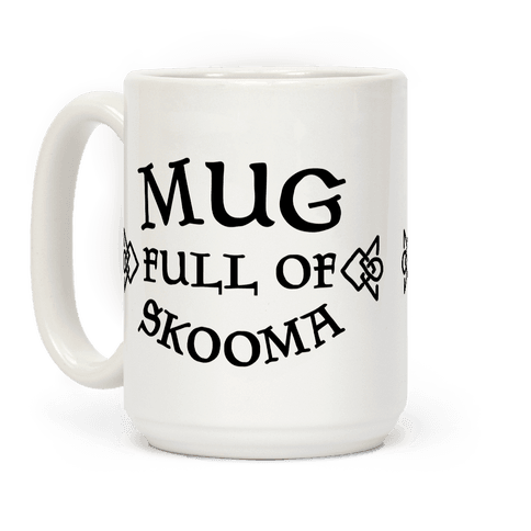 Mug Full of Skooma Coffee Mug