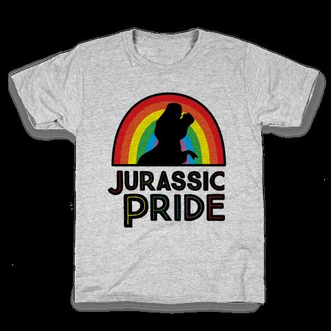 Jurassic Pride Parody Kids T-Shirt