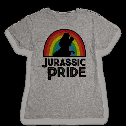 Jurassic Pride Parody Womens T-Shirt