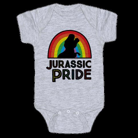 Jurassic Pride Parody Baby Onesy