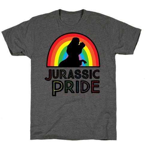 Jurassic Pride Parody T-Shirt