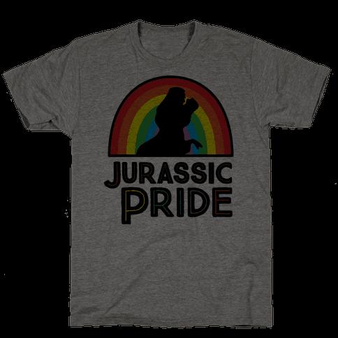 Jurassic Pride Parody Mens T-Shirt
