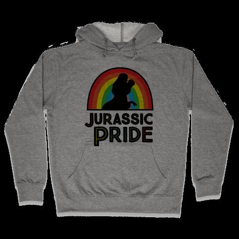 Jurassic Pride Parody Hooded Sweatshirt