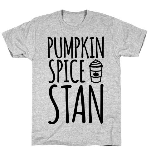 Pumpkin Spice Stan Mens T-Shirt