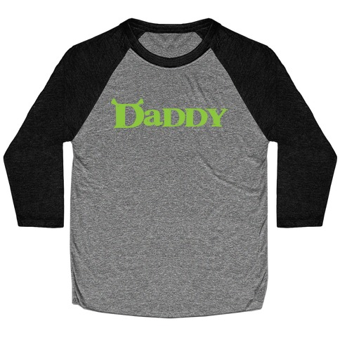 Daddy Baseball Tee
