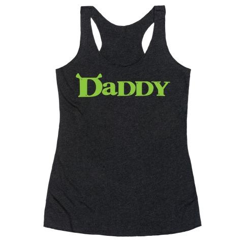 Daddy Racerback Tank Top