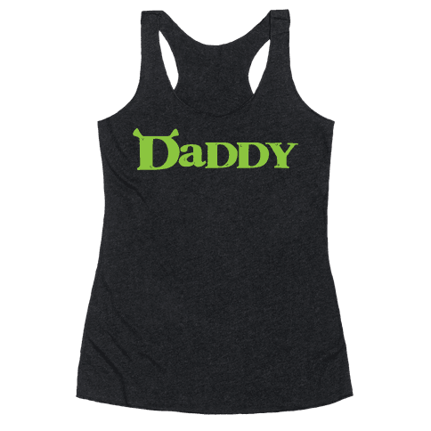 Daddy Racerback Tank Top