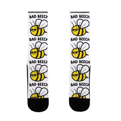 Bad Beech Bee Sock