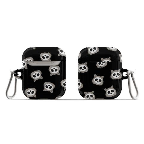 Raccoon Skull Pattern AirPod Case