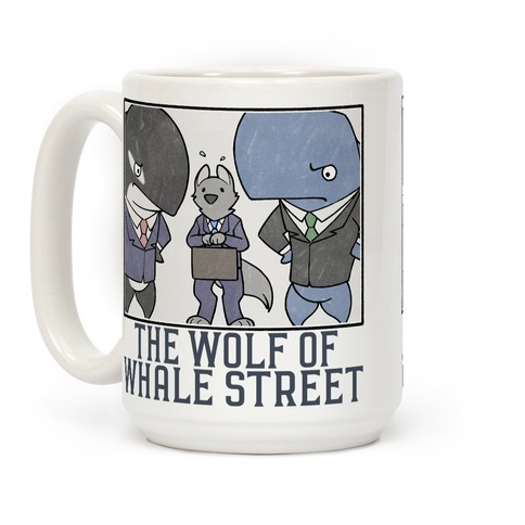 Wolf Of Whale Street Coffee Mug