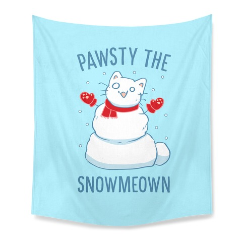 Pawsty The Snowmeown Tapestry