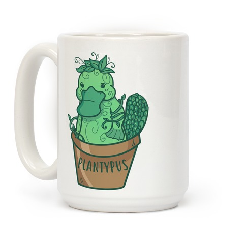 Plantypus White Coffee Mug