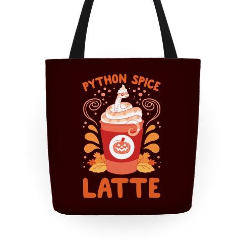 Python Spice Latte Tote