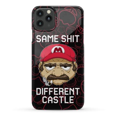 Same Shit Different Castle Phone Case