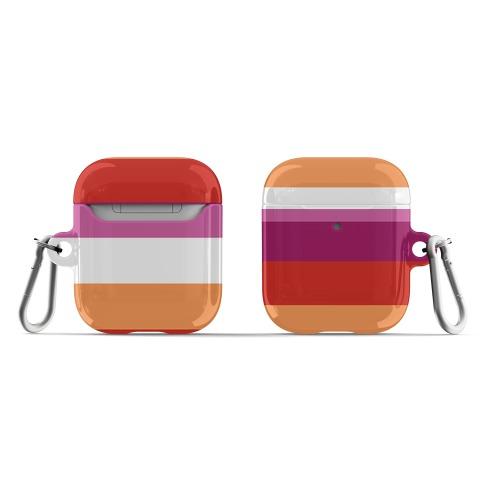 Lesbian Pride Flag AirPod Case
