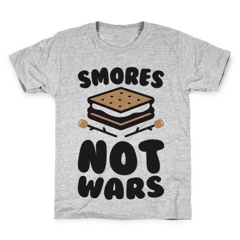 Smores Not Wars (CMYK) Kids T-Shirt