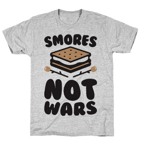 Smores Not Wars (CMYK) Mens T-Shirt