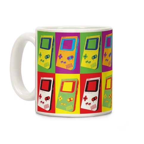 Gameboy Pop Art Pattern Coffee Mug