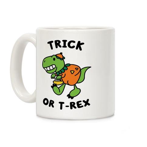 Trick or T-Rex Coffee Mug