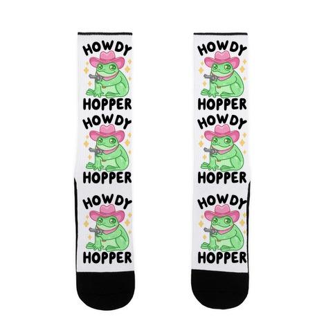 Howdy Hopper Sock