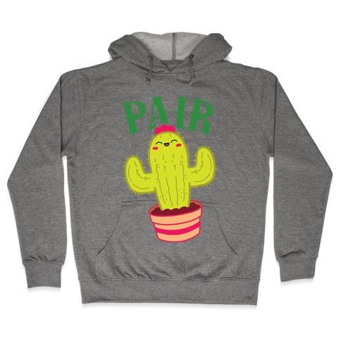 Prickly Pair BFF's Hooded Sweatshirt